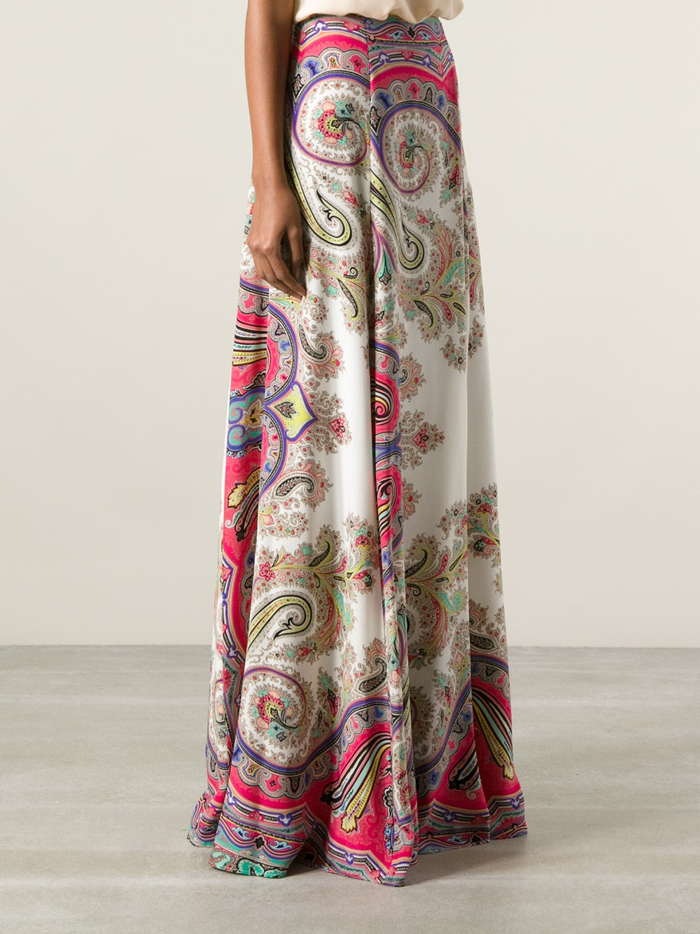 Milano paisley print silk maxi skirt Etro From China For Sale Clearance Best Seller Cheap Brand New Unisex Buy Cheap Amazing Price 2H3QsTP