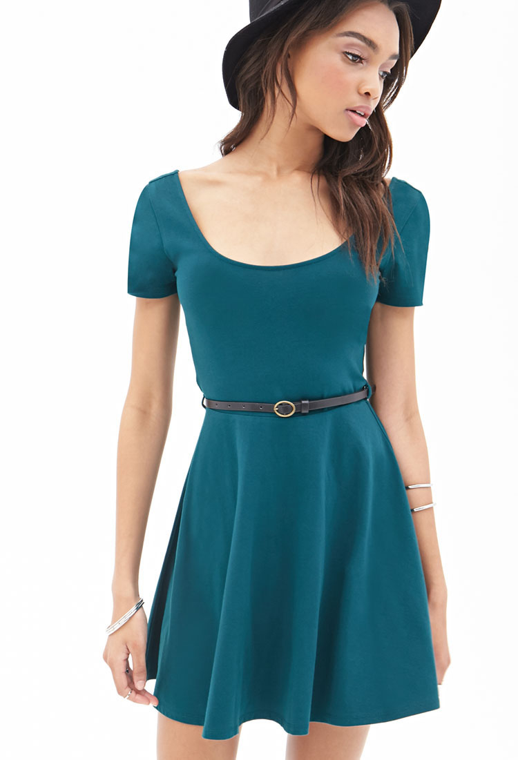 Belted Sheath Dress Forever 21 images