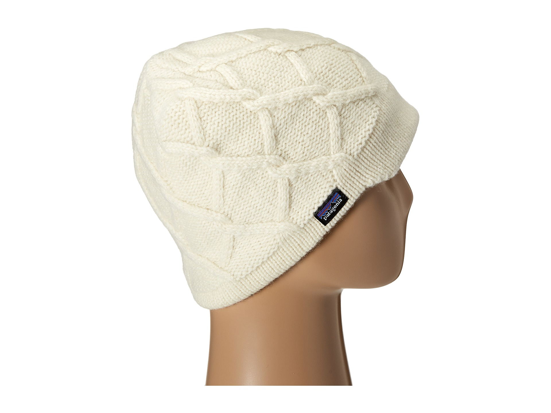 2617d384dbc15 Patagonia Vanilla Beanie in White - Lyst