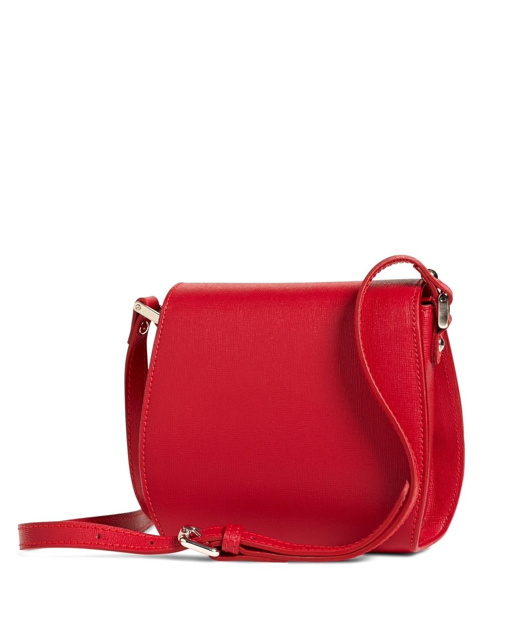 Brooks brothers Leather Crossbody Bag in Red | Lyst