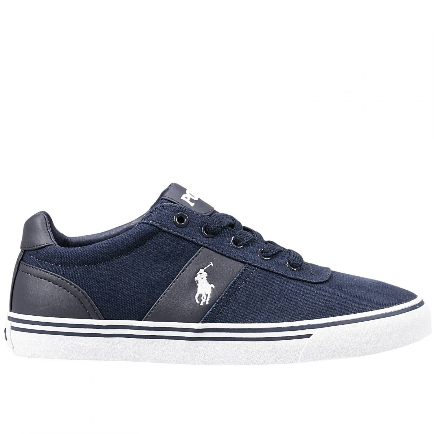 polo ralph lauren sneakers in blue for men lyst. Black Bedroom Furniture Sets. Home Design Ideas