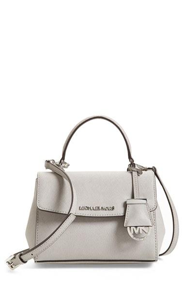 ea985aeb745d Lyst - MICHAEL Michael Kors  extra Small Ava  Leather Crossbody Bag ...