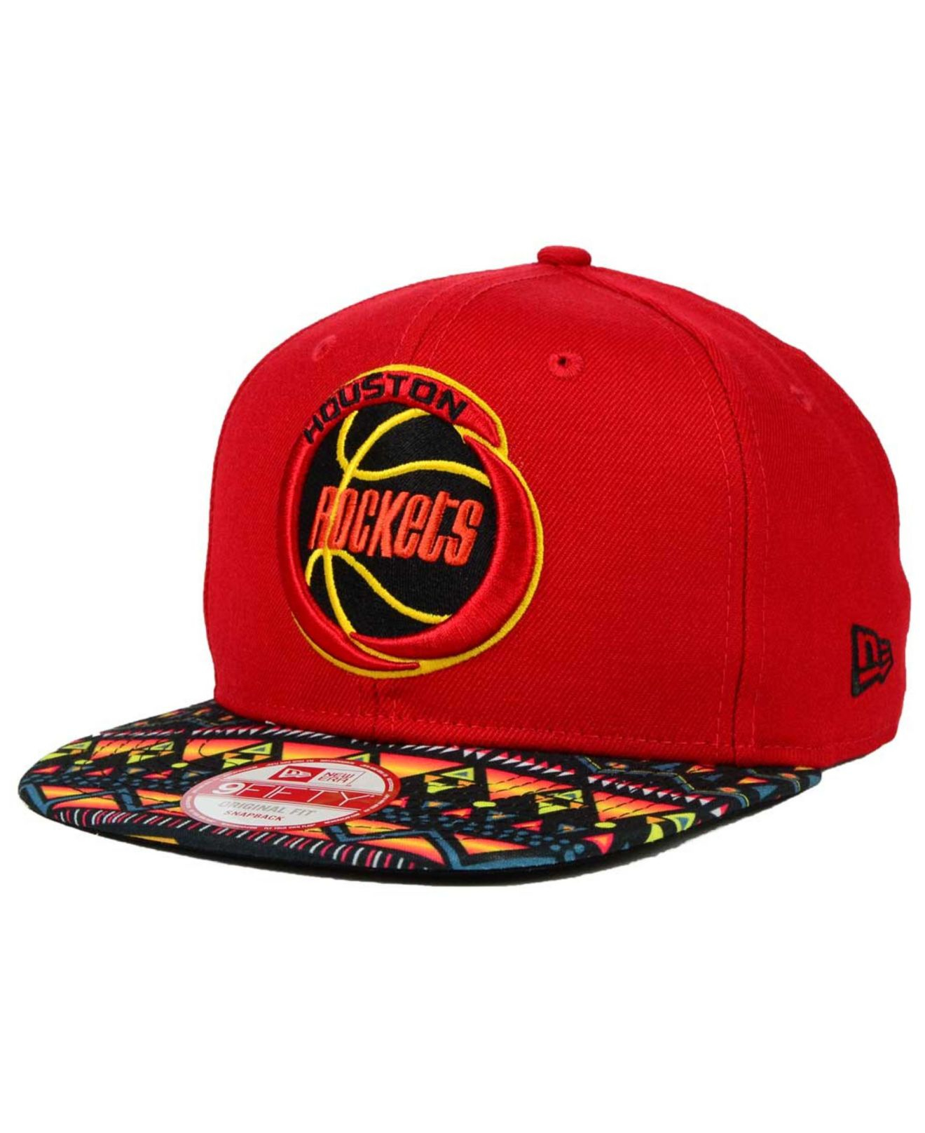 Lyst - Ktz Houston Rockets Hwc Tribe Called 9fifty Snapback Cap in ... 5bdfca8bfa9