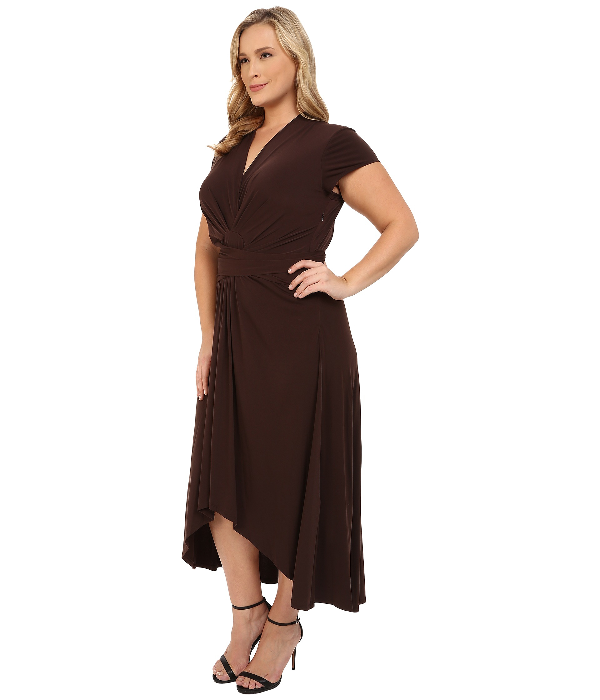 Chocolate Plus Size Dresses – Fashion dresses