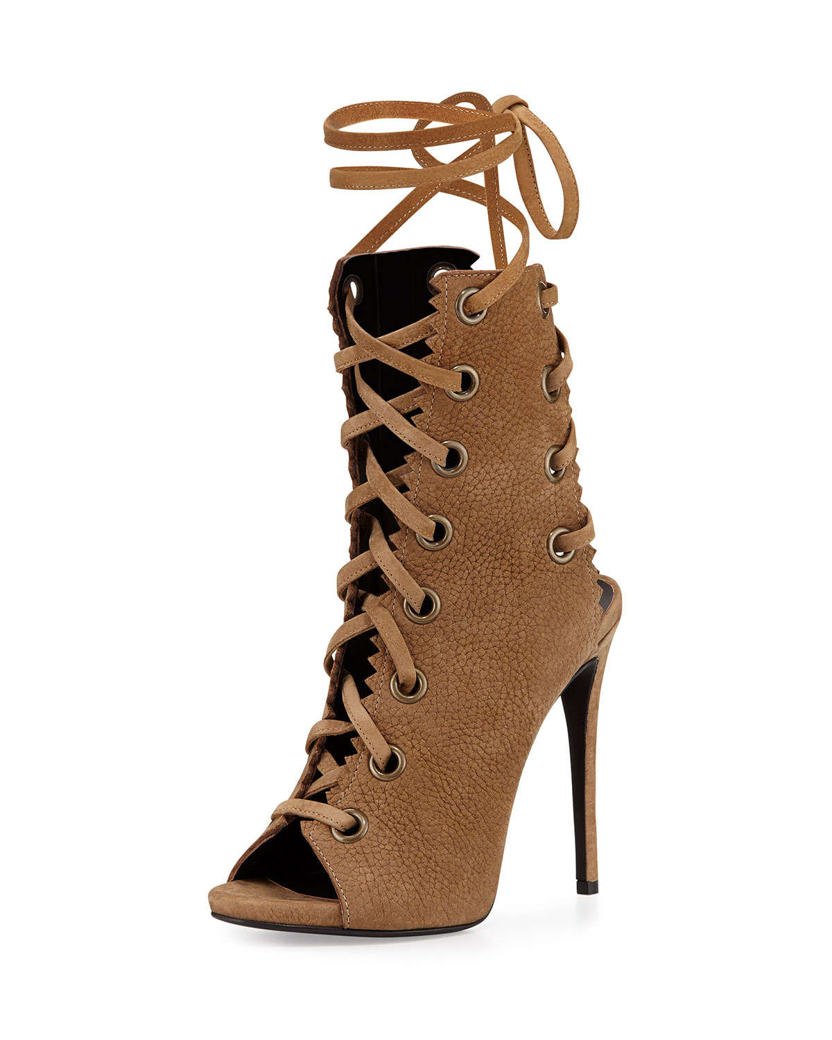 discount order sale with paypal Giuseppe Zanotti Suede Gladiator... TbCx5O8nk