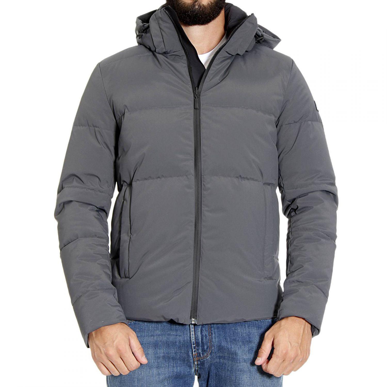 b31529137 Lyst - Fendi Down Jacket in Black for Men