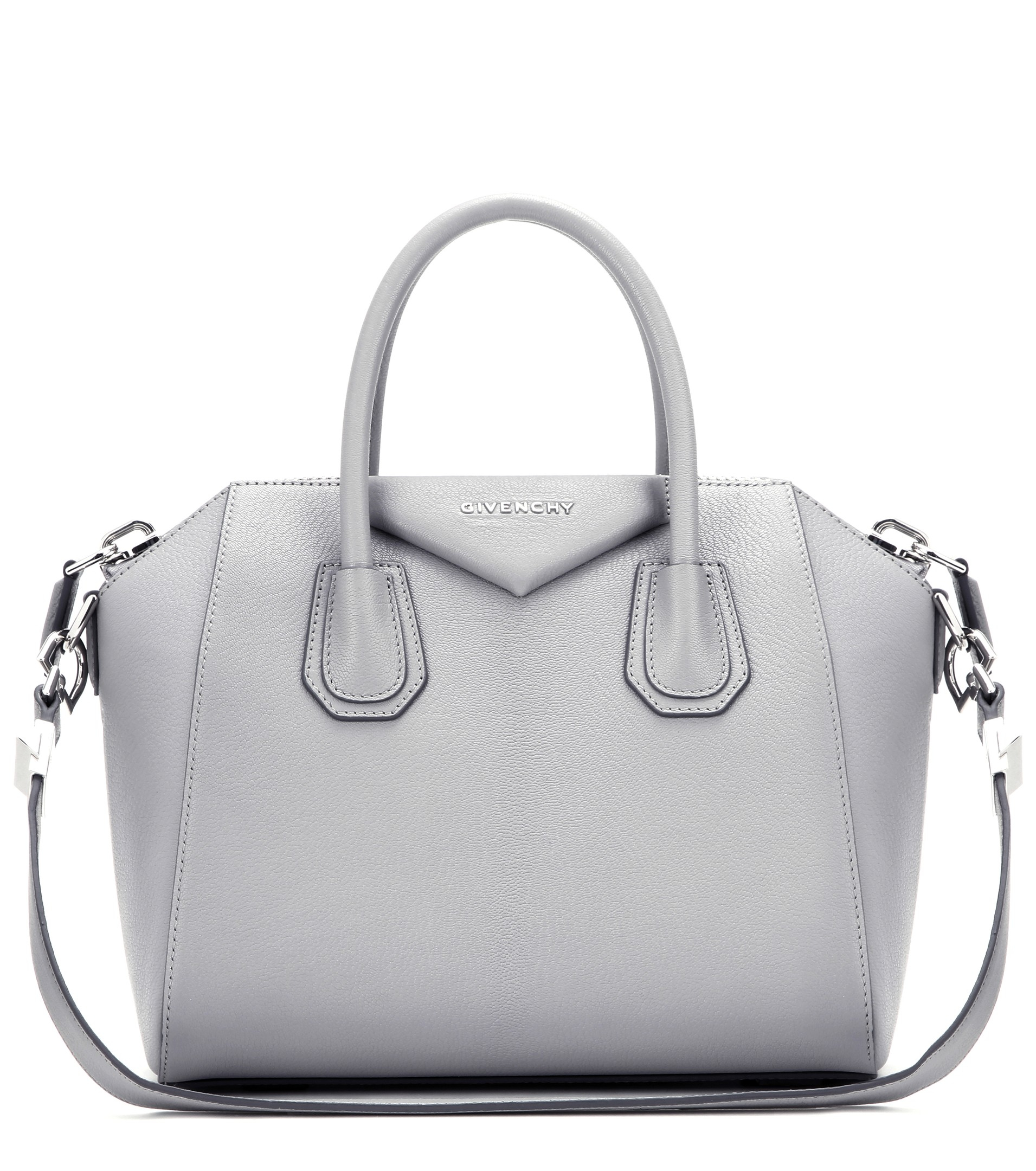 Givenchy Antigona Small Leather Tote in Gray - Lyst 59934884f5