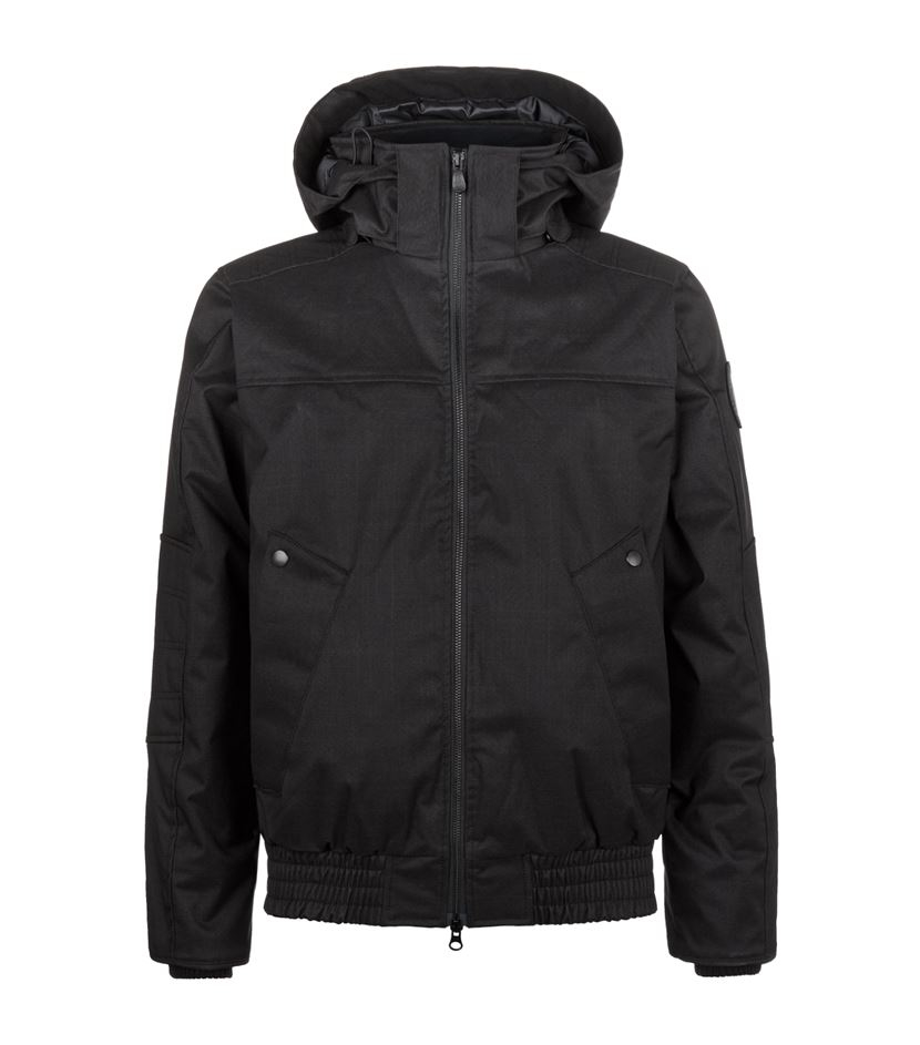 canada goose rossland bomber jacket in black for men lyst. Black Bedroom Furniture Sets. Home Design Ideas