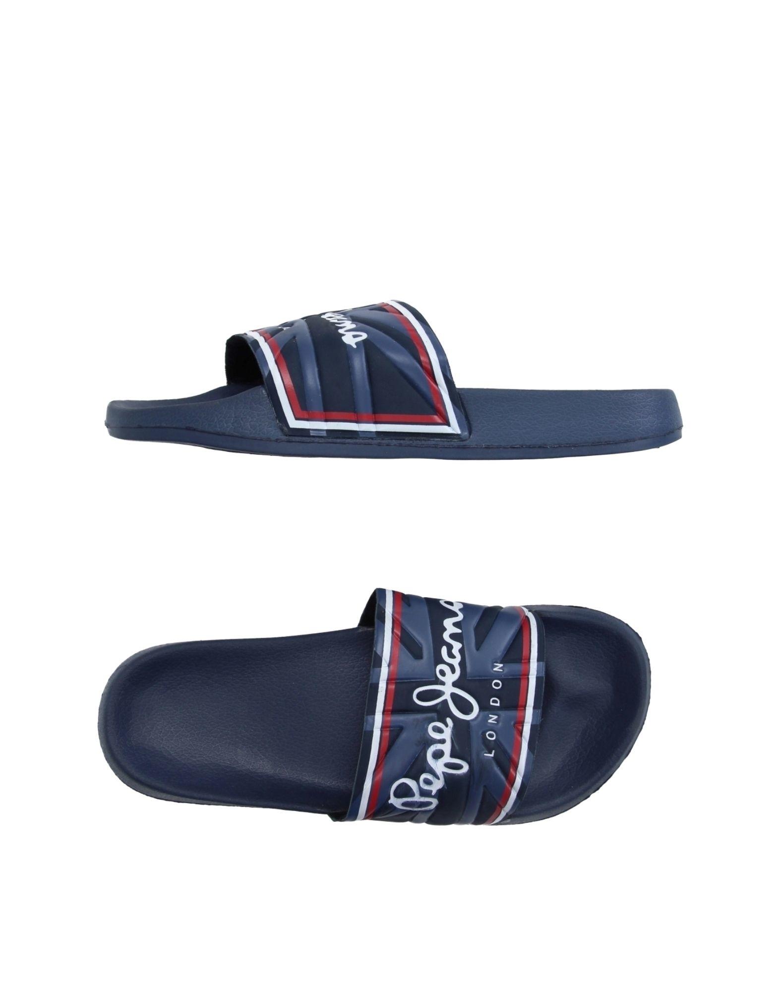 Two Strap Slide Sandals Black