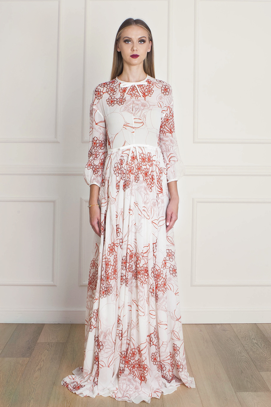 Collection Floral Maxi Dress Pictures - Reikian