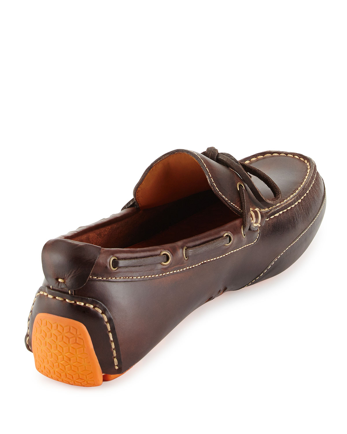 c4a6851c63d Lyst - Cole Haan Motogrand Leather Camp-Moc Loafer in Brown for Men