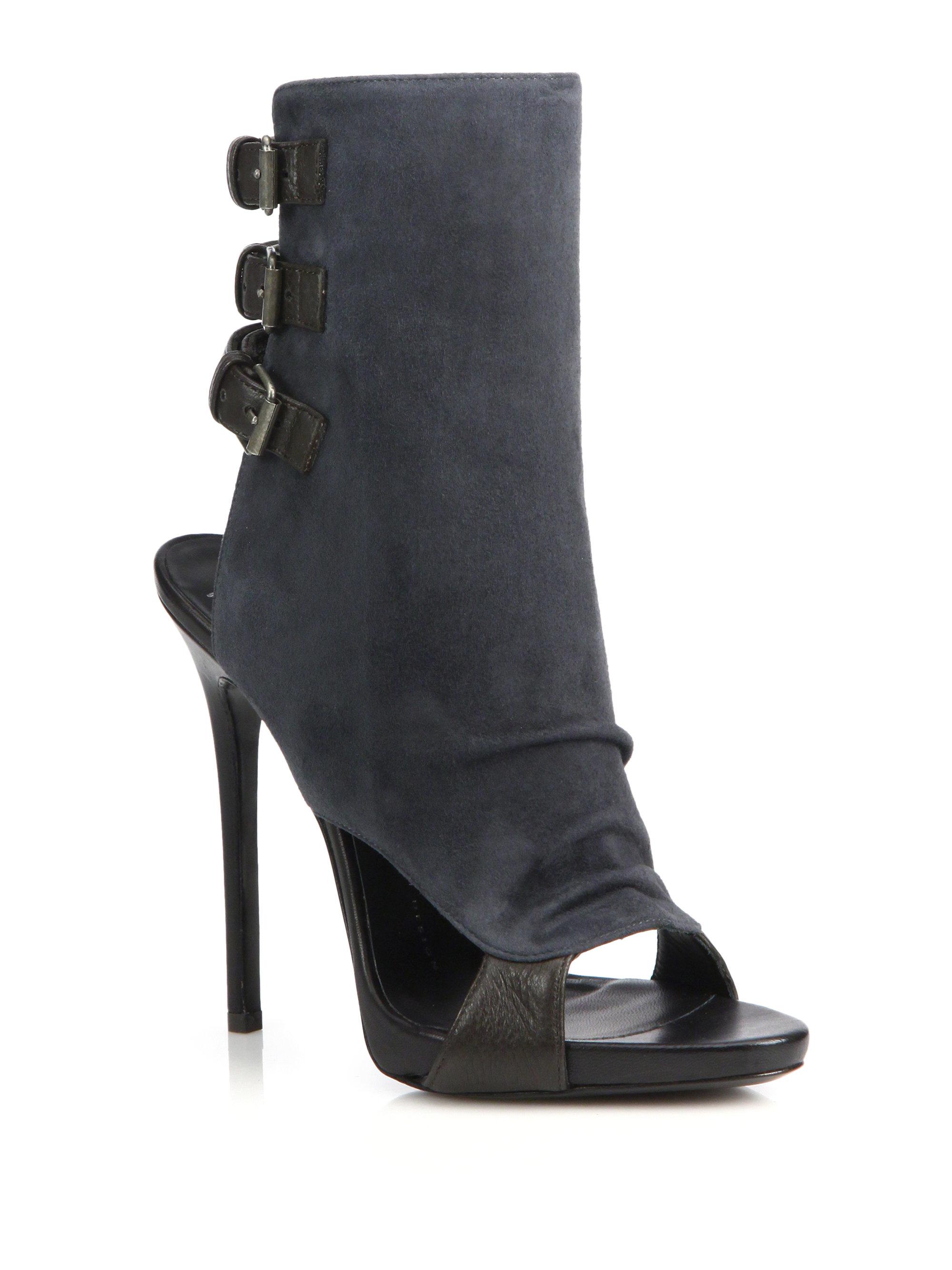 peep toe booties - Black Giuseppe Zanotti bM6nbQ