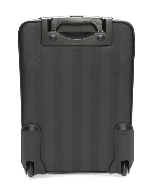 4cd595910863 Fendi Tobacco Striped Canvas Rollaway Carry-on Luggage in Gray - Lyst