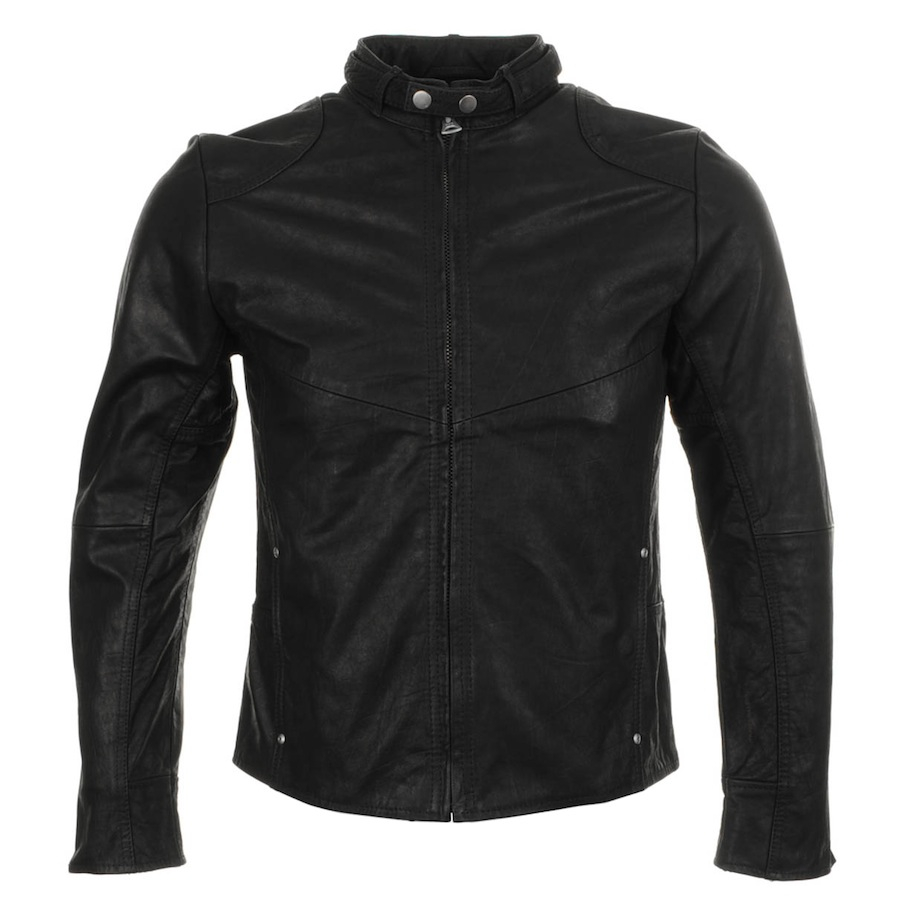 Lyst G Star Raw Hermans Leather Jacket In Black For Men