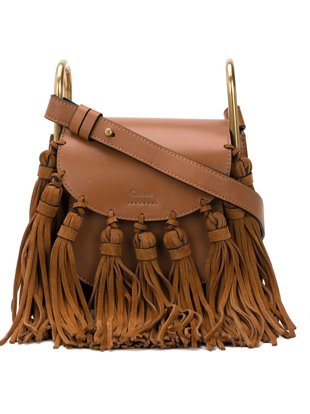 replica handbags chloe - Chlo�� \u0026#39;hudson\u0026#39; Crossbody Bag in Brown | Lyst