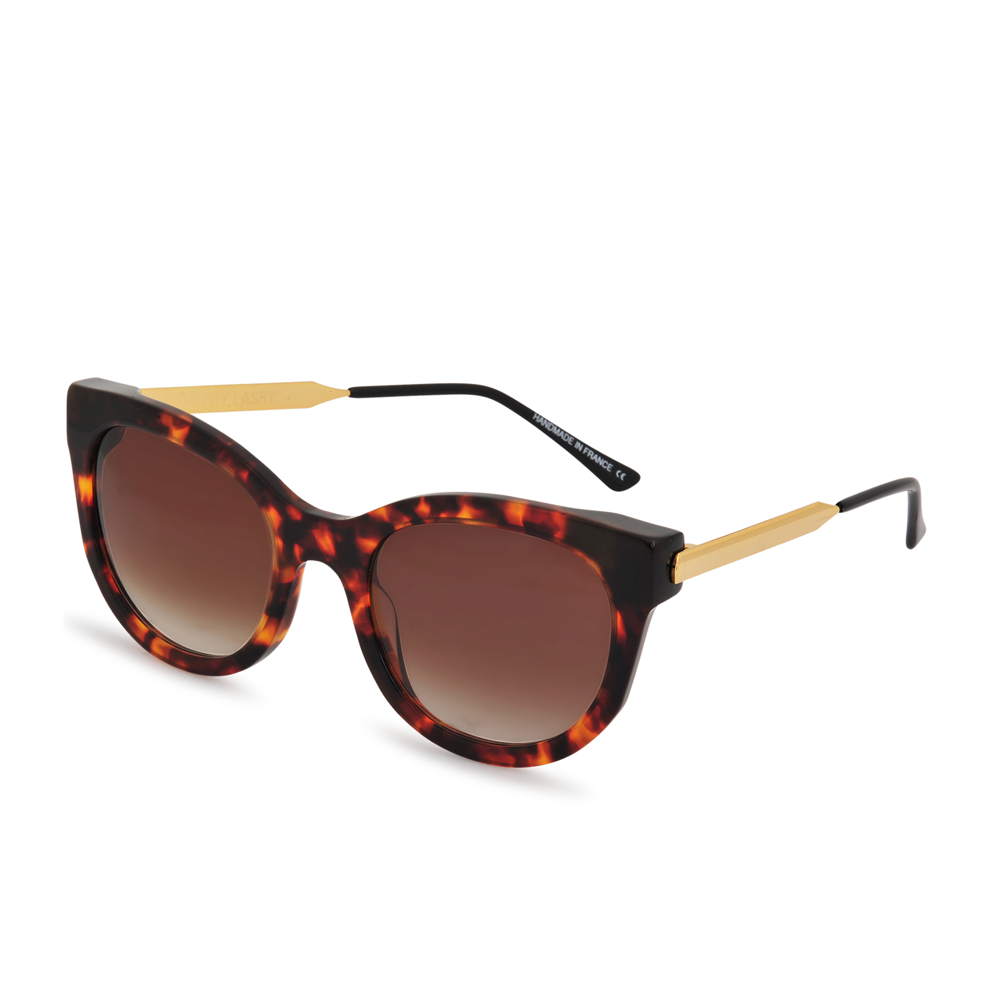 Thierry lasry Lively 008 Sunglasses in Brown