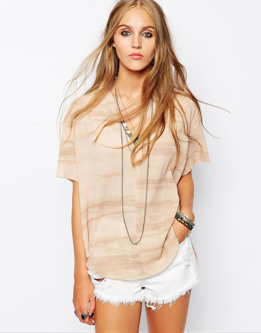 Lyst Zadig Amp Voltaire Zadig And Voltaire Tassy Tunic Top