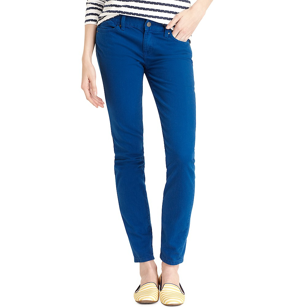 tommy hilfiger modern fit skinny jean color wash in blue. Black Bedroom Furniture Sets. Home Design Ideas