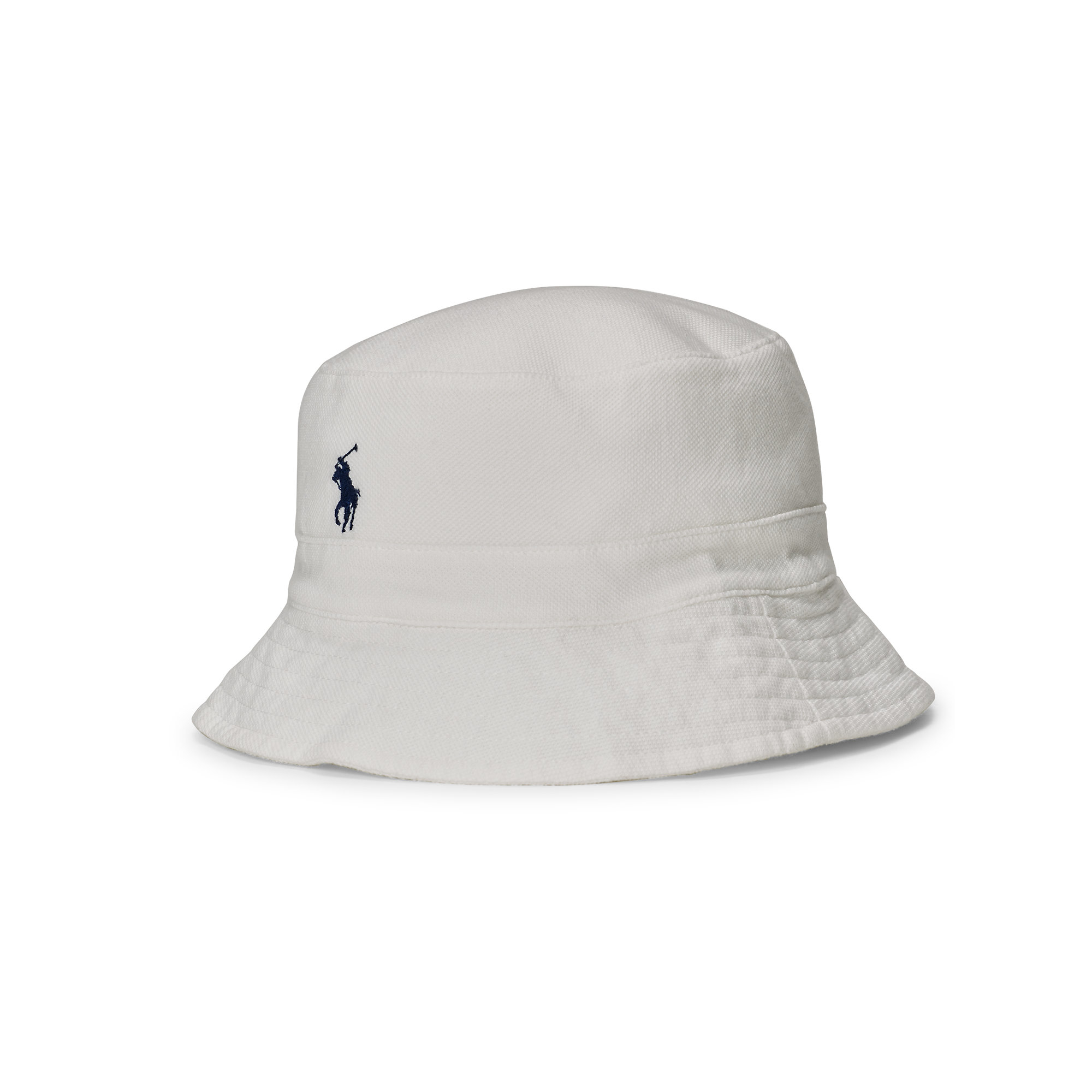 Lyst - Polo Ralph Lauren Cotton Mesh Bucket Hat in White for Men 8eafc49804b