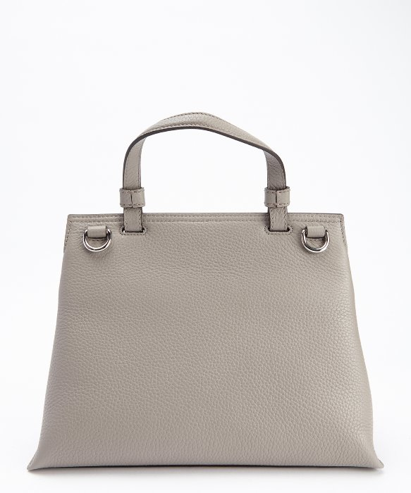 Lyst - Gucci Grey Leather Small  bamboo Daily  Convertible Top ... e2a7ebb06dfbd