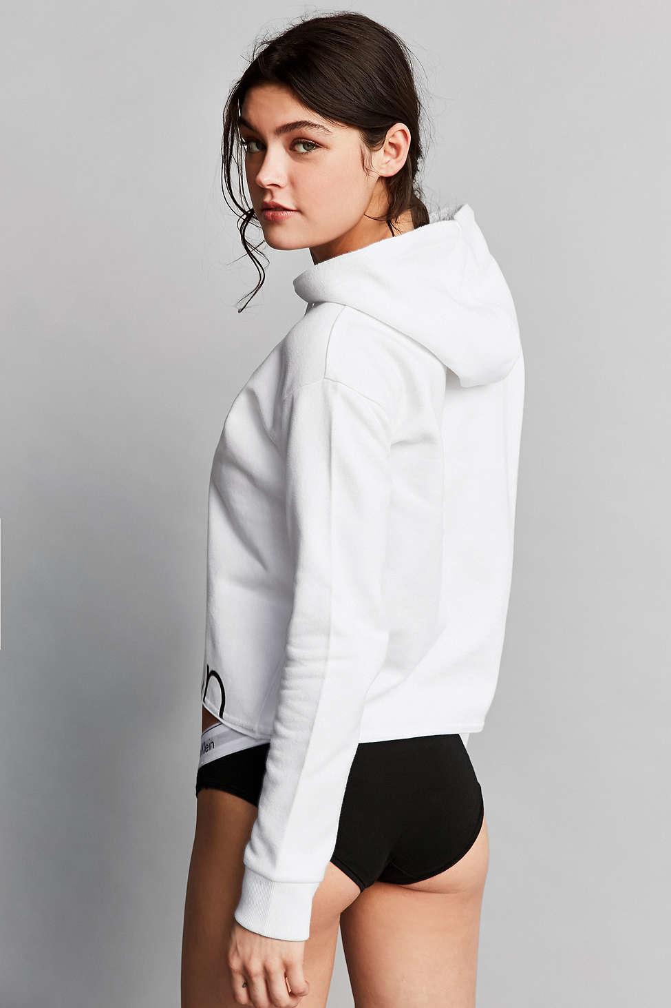 Calvin Klein For UO Flyaway Hoodie Sweatshirt - Urban