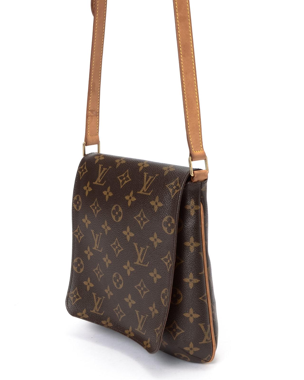 Louis vuitton Musette Salsa Long Shoulder Bag in Green | Lyst