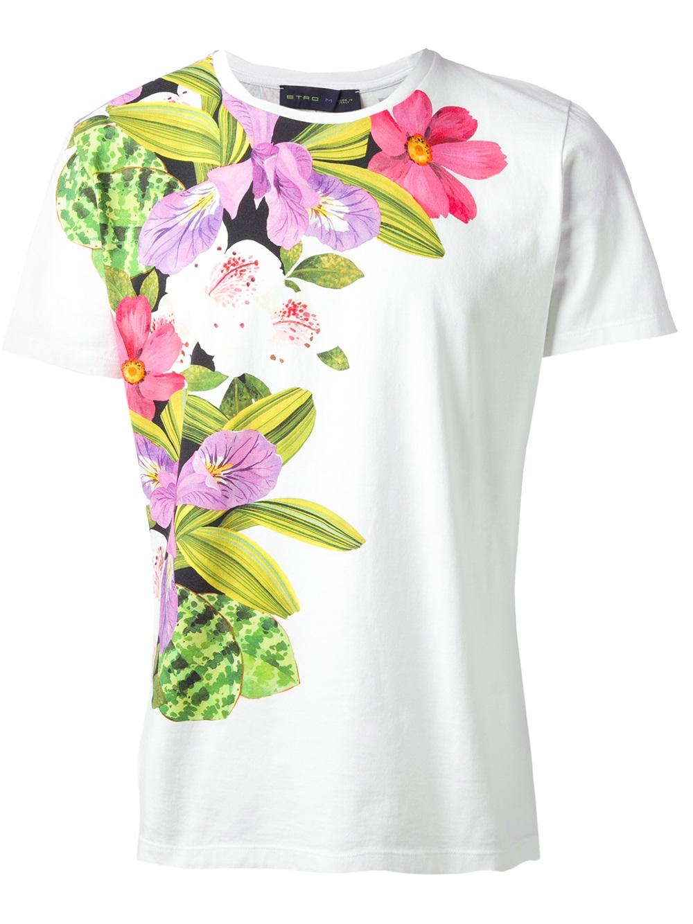 Men Floral Shirts