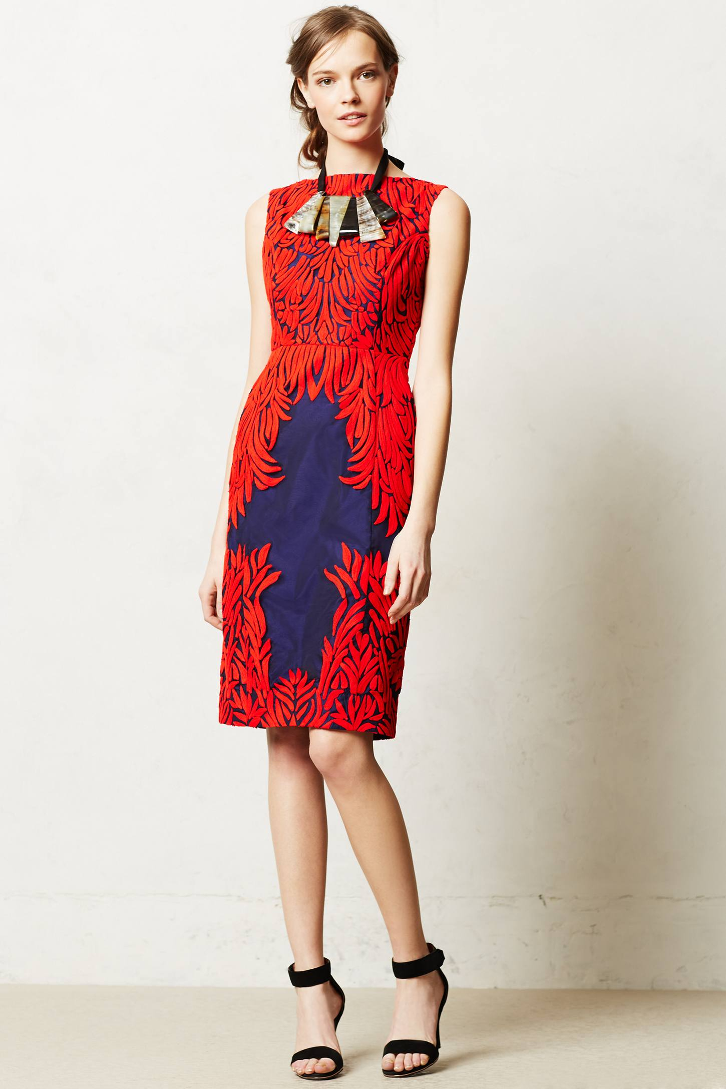 9e56cc12bfe3 Anthropologie Spice Tree Dress in Red - Lyst