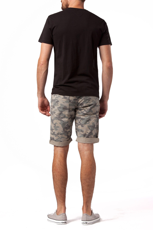 tommy hilfiger federer logo crew neck slim fit t shirt in. Black Bedroom Furniture Sets. Home Design Ideas
