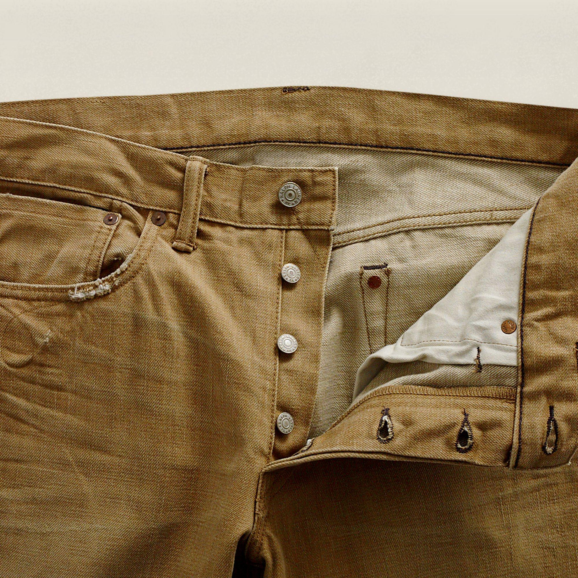 Rrl Slimfit Bootcut Jean in Brown for Men | Lyst