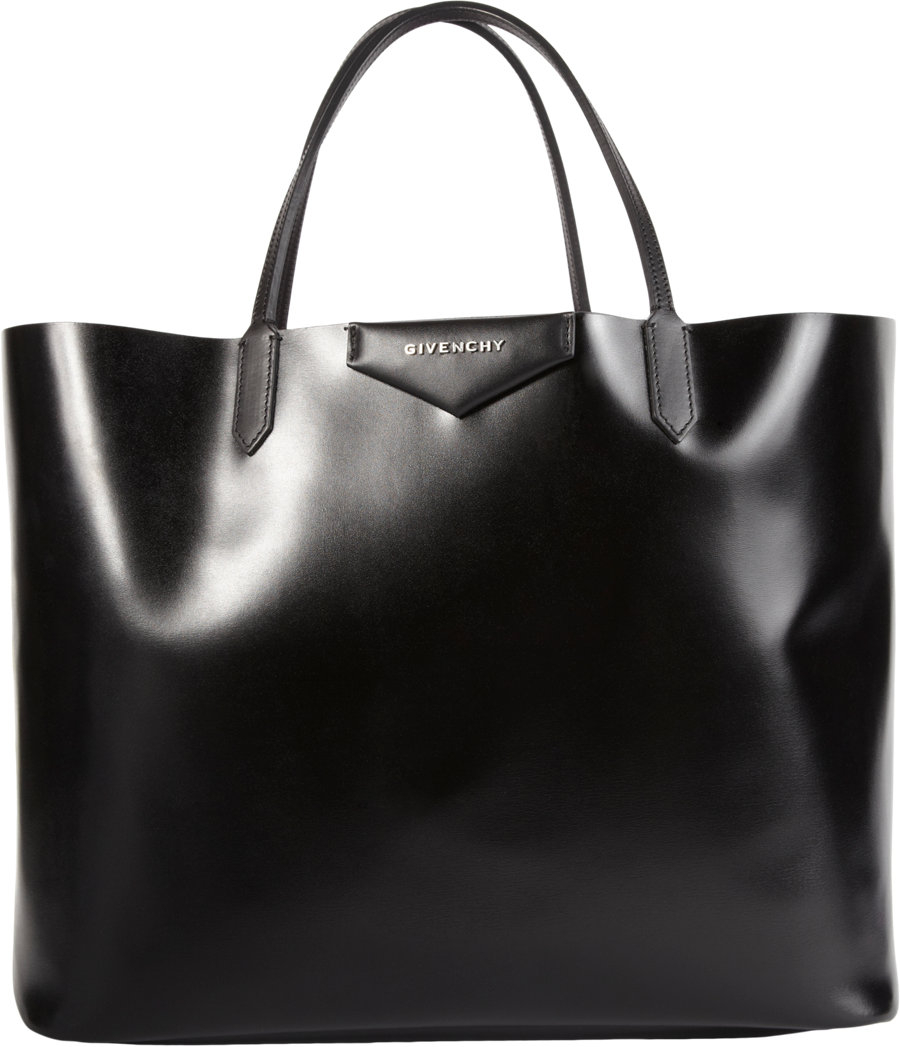 c0d20e764e Givenchy Florallined Large Antigona Shopper in Black - Lyst