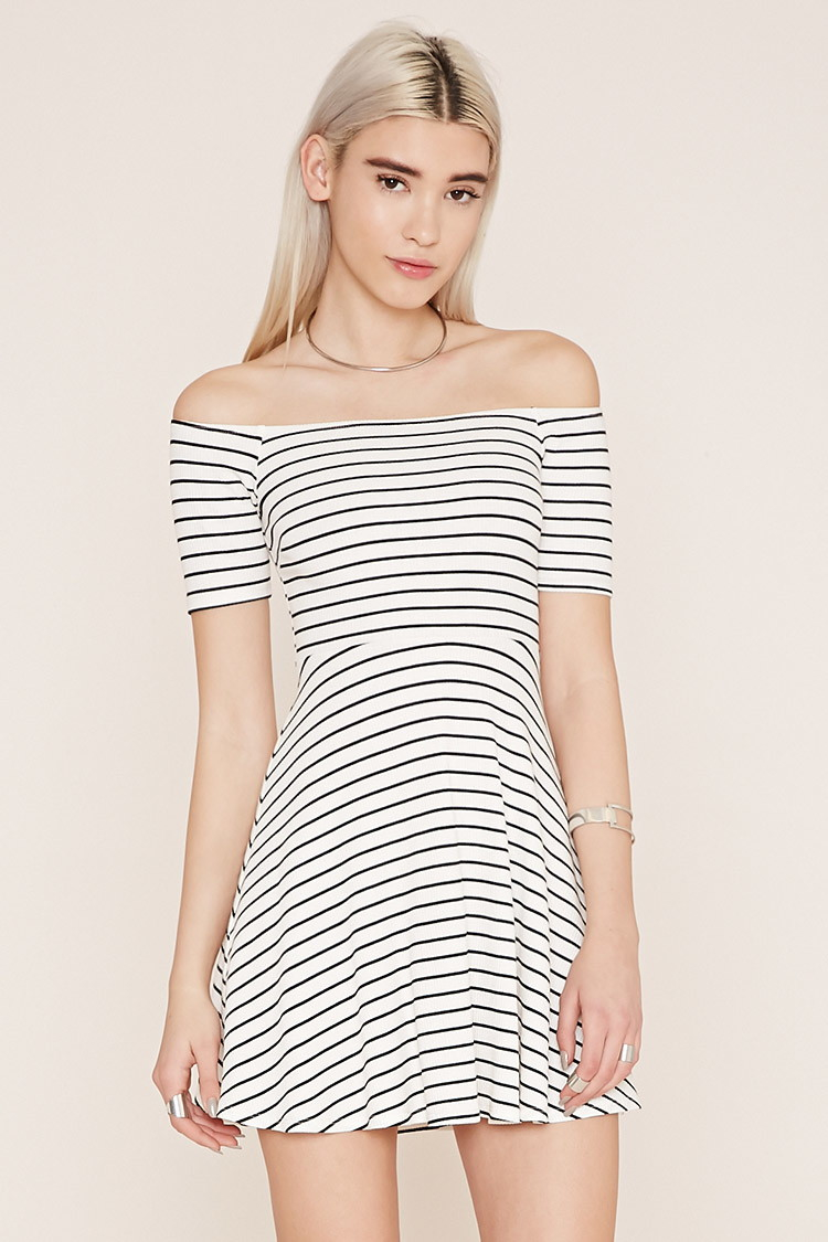 Coctail dresses collection - Forever 21 white cocktail dress