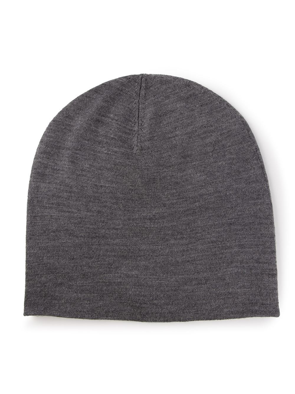 Lyst Acne Studios Classic Beanie Hat In Gray For Men