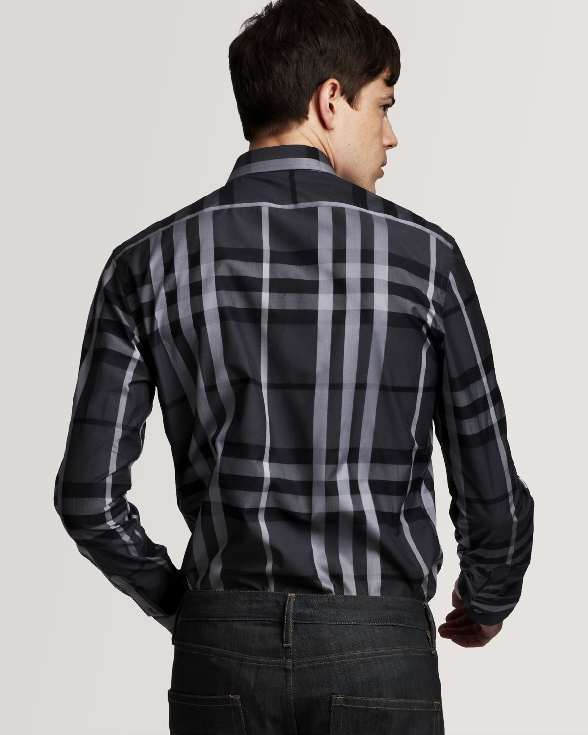 Burberry Dress Shirts Mens T Shirt