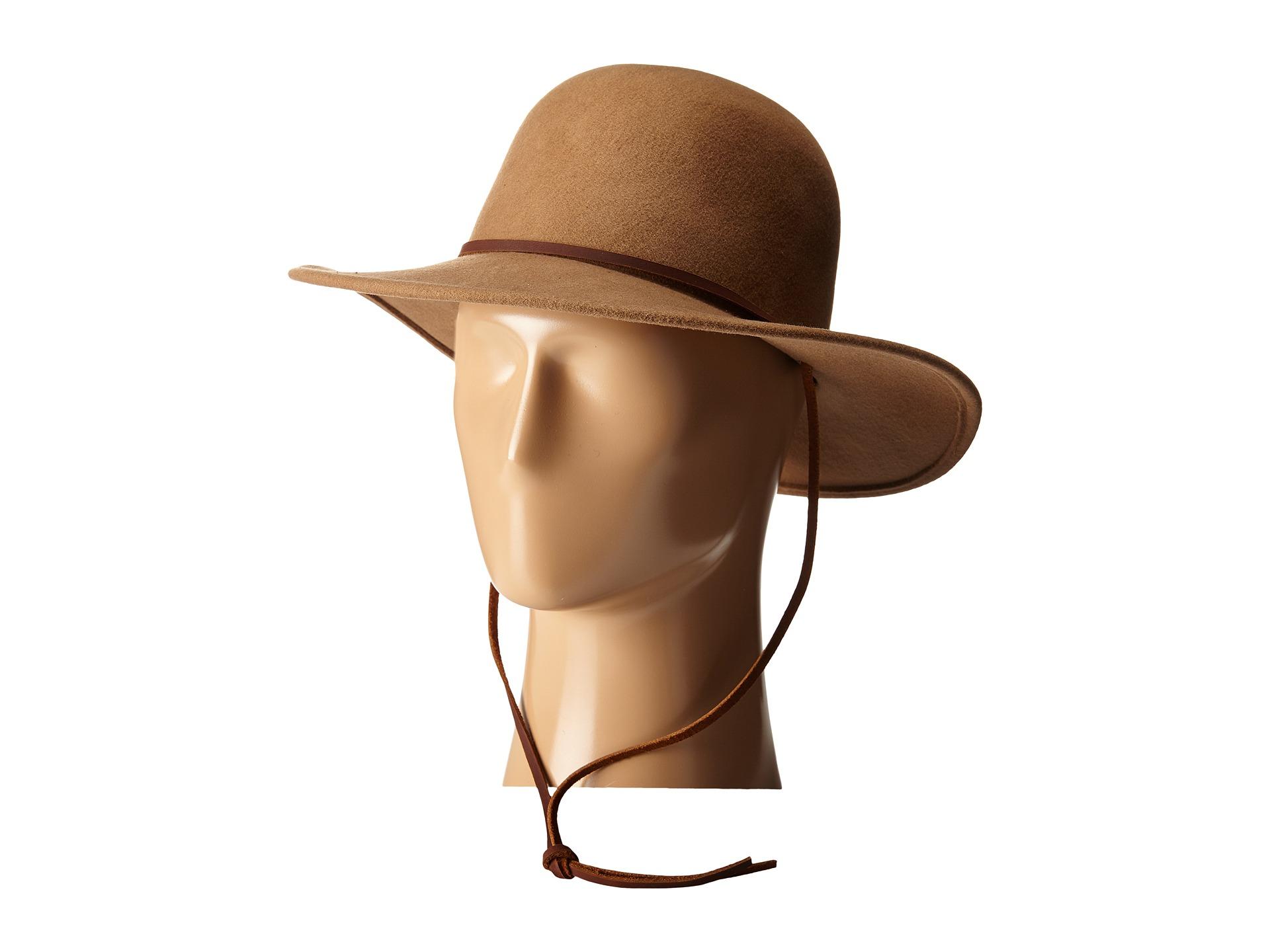 4126299fba Brixton Tiller Hat in Brown - Lyst