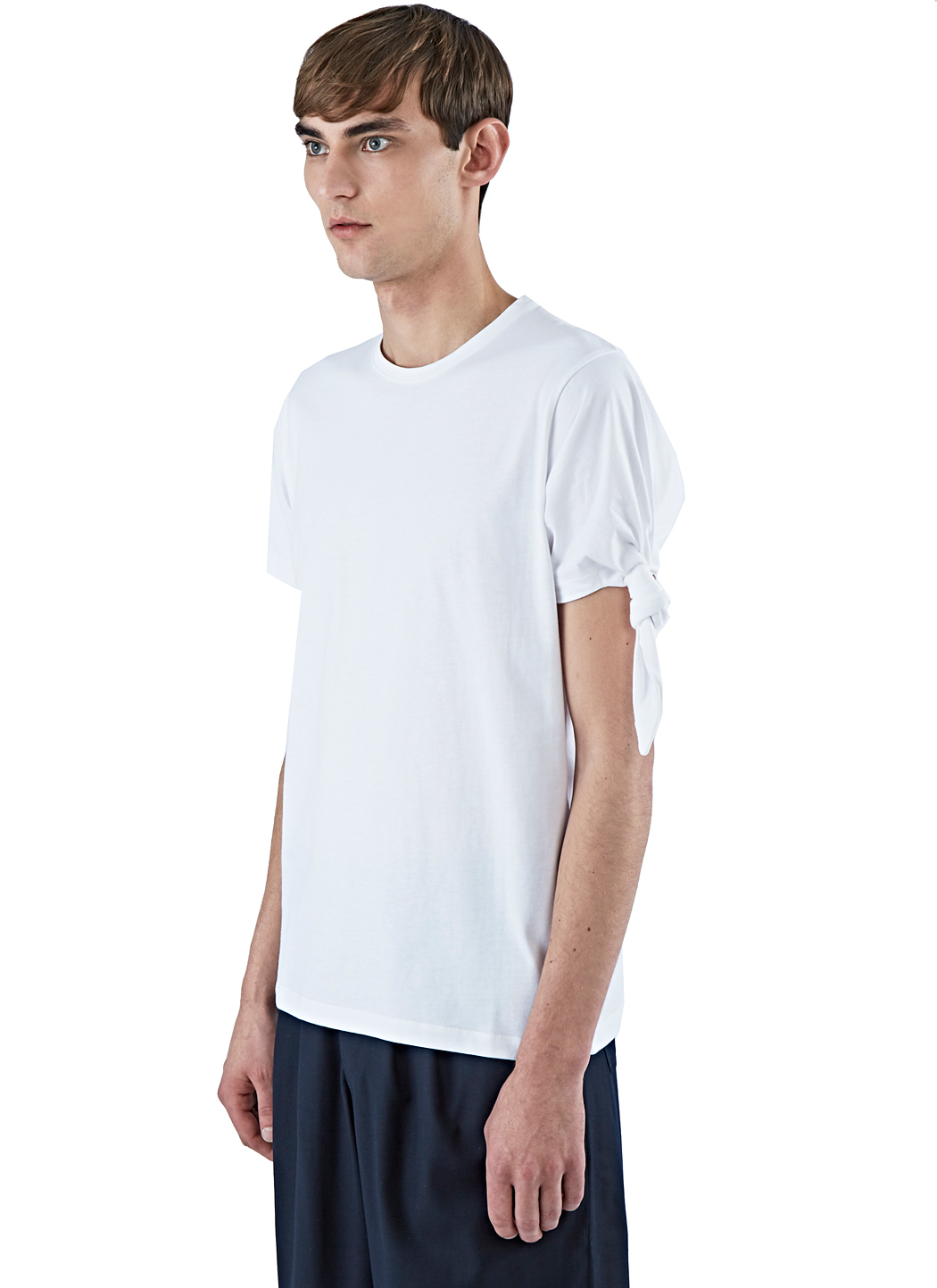 single knot T-shirt - White J.W.Anderson