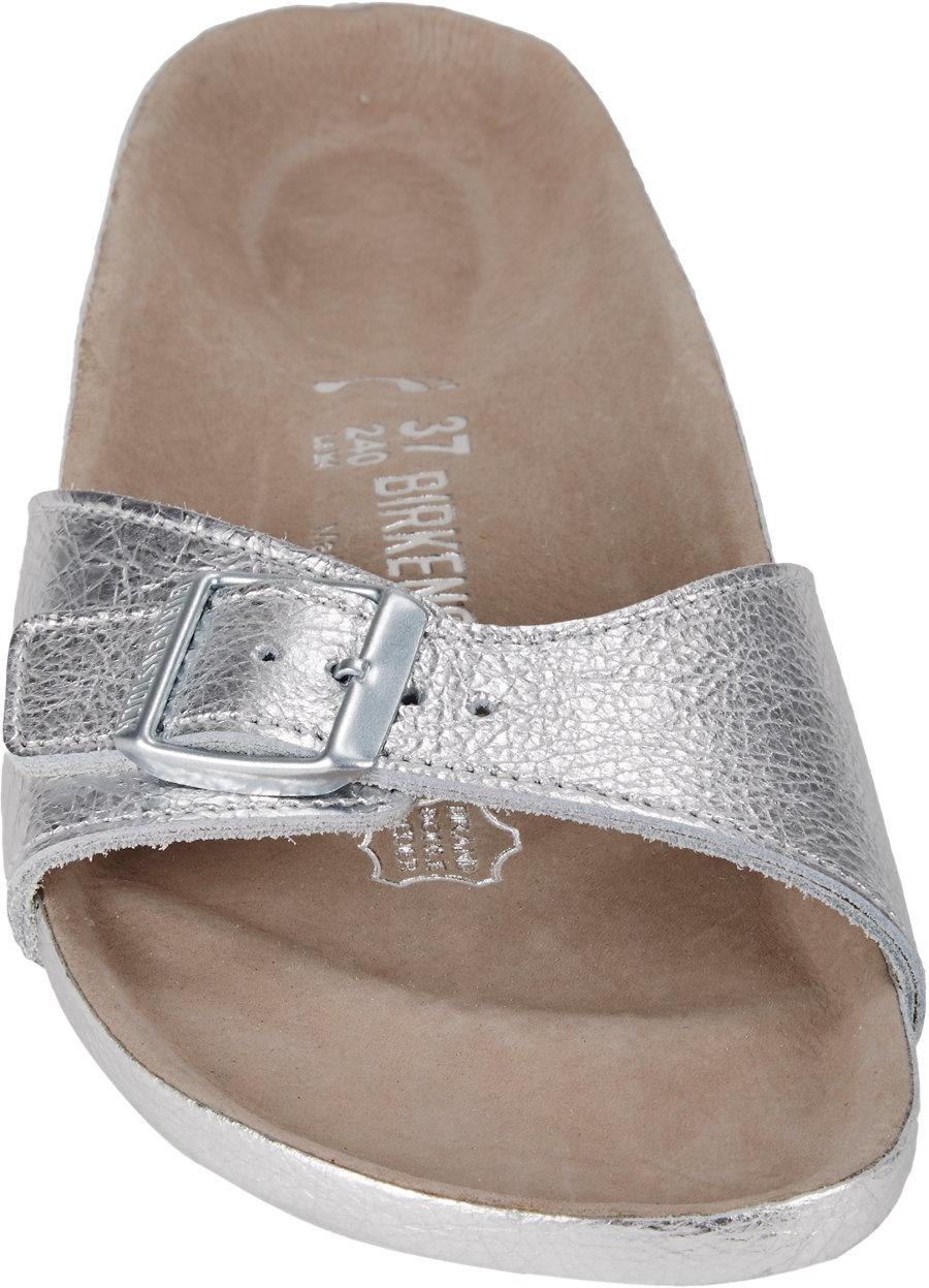 Lyst Birkenstock Metallic Madrid Sandals In Metallic