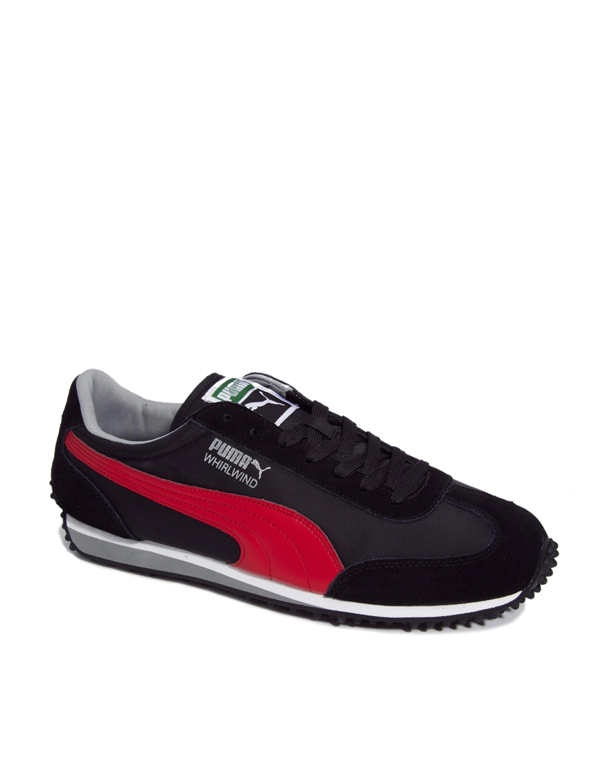 3108341ff2cfcd Lyst - PUMA Whirlwind Classic Trainers in Black for Men