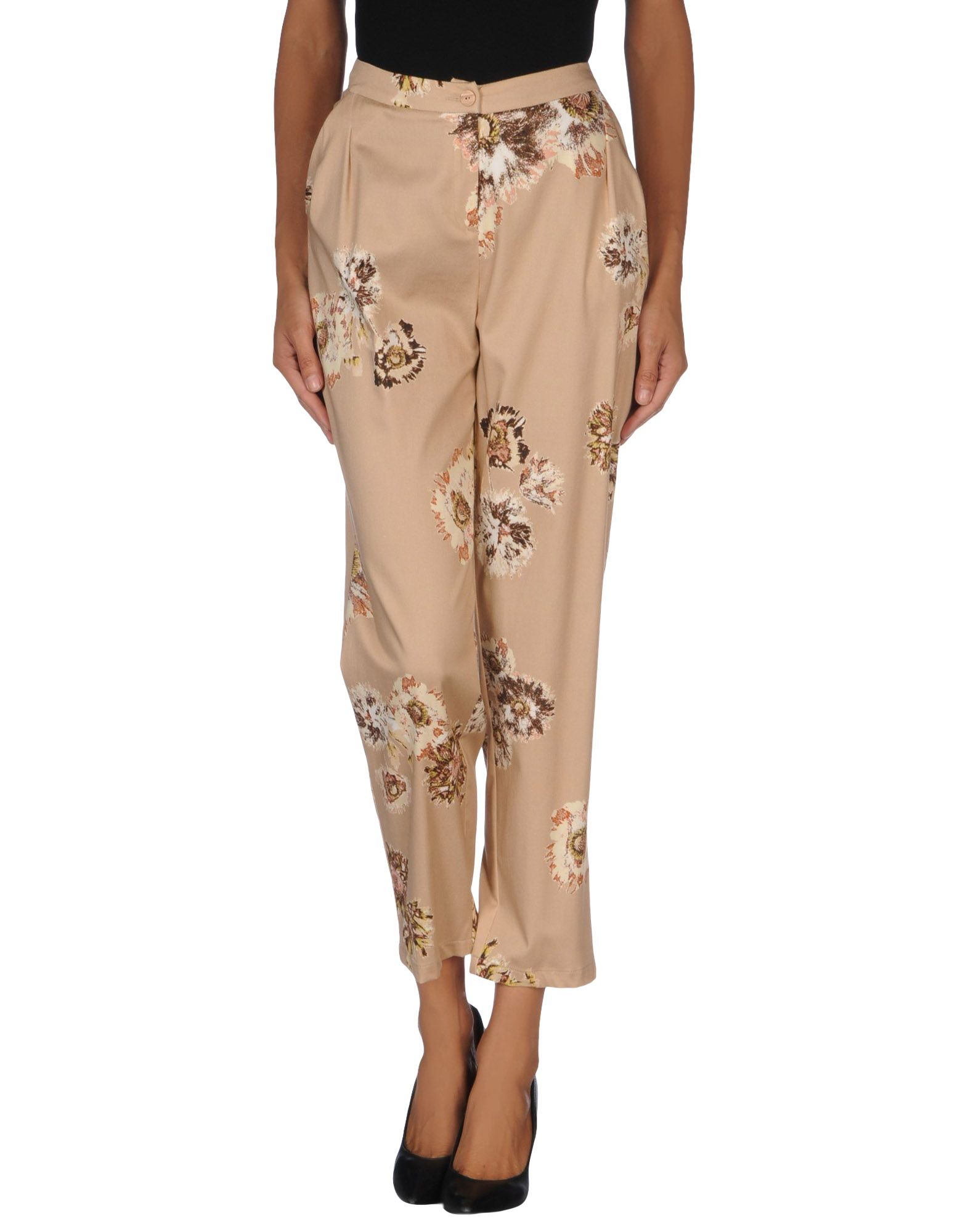 Lilith Casual Trouser In Natural Lyst
