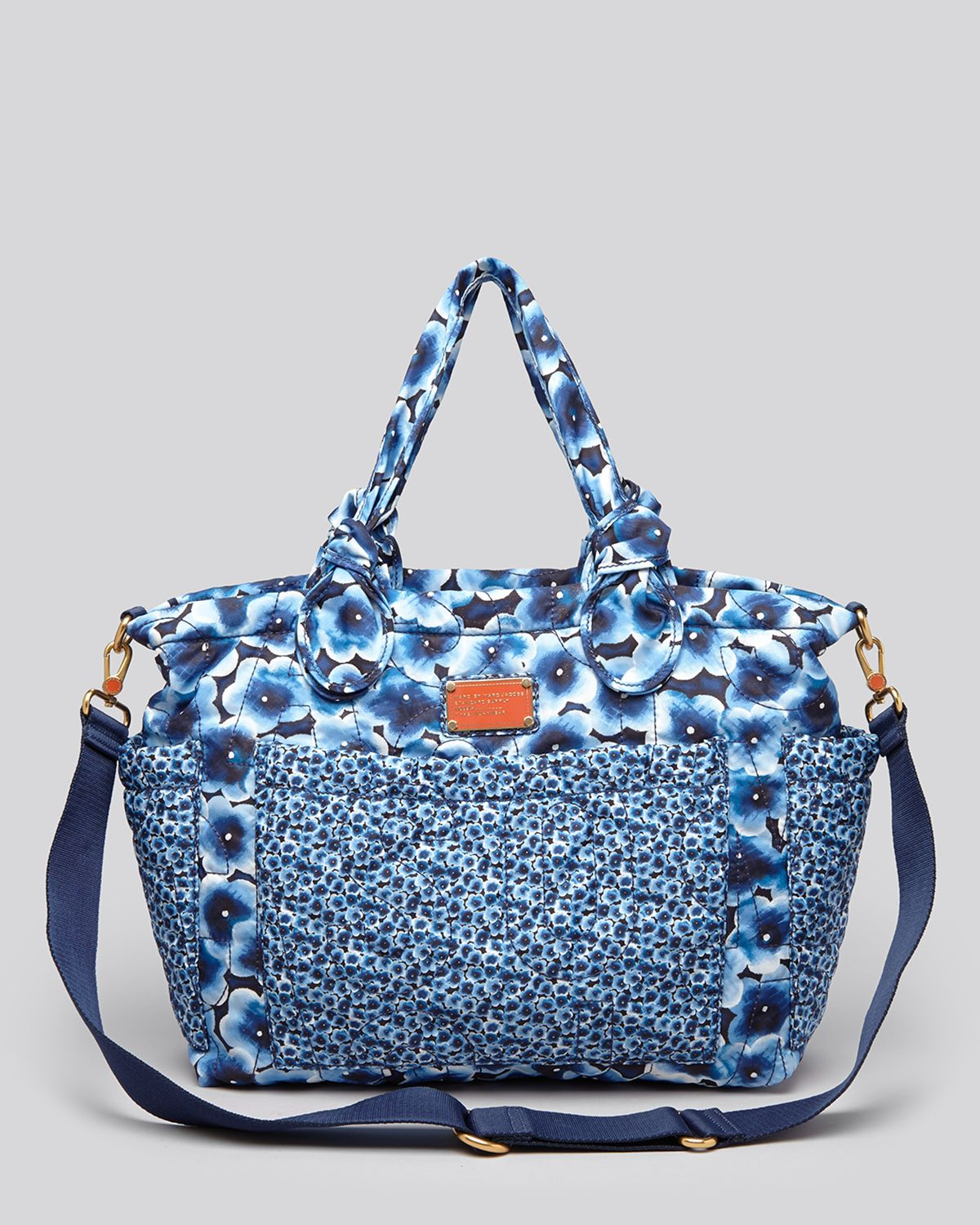Marc By Marc Jacobs Diaper Bag - Pretty Nylon Aki Floral Eliz-A-Baby In Blue | Lyst