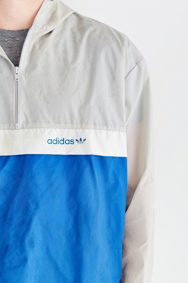 Adidas jacket blue and white dress