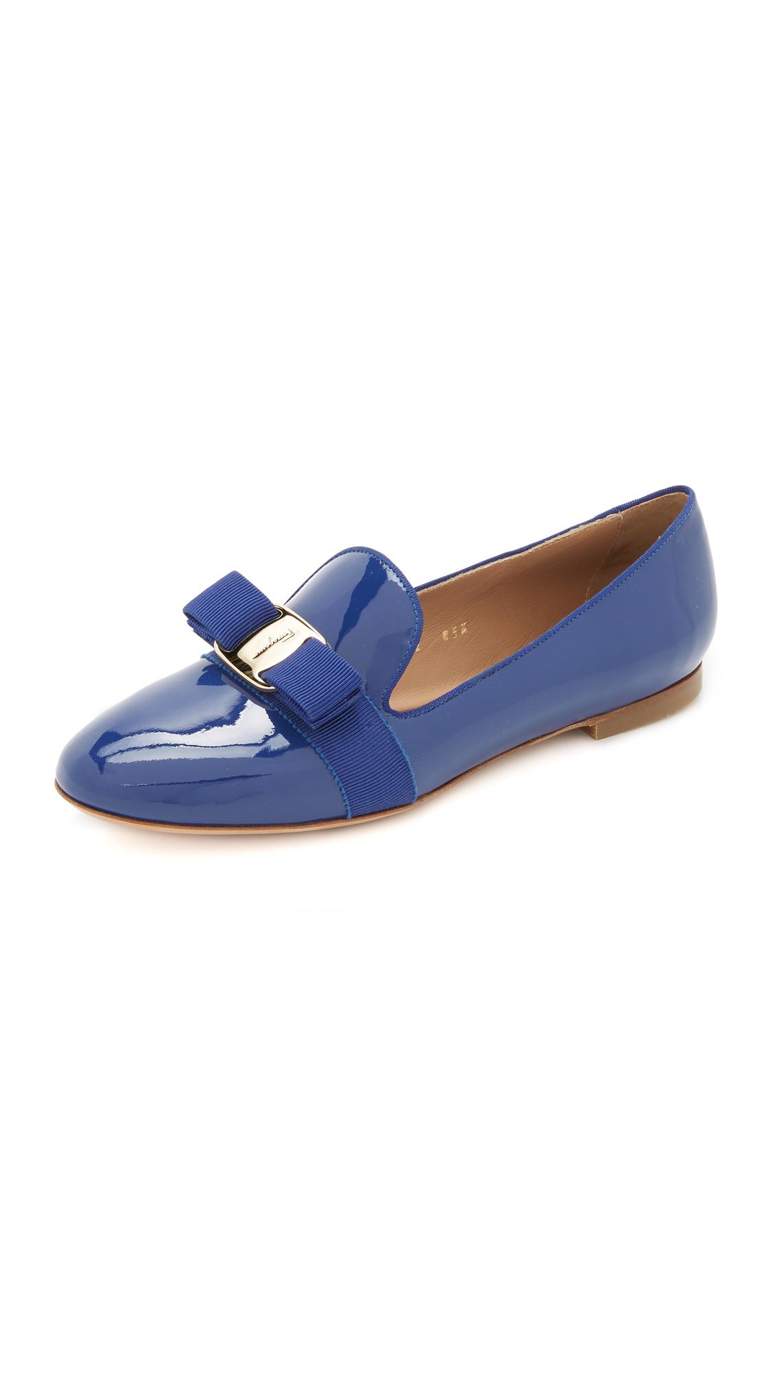 941633e76c2 Lyst - Ferragamo Scotty Loafers in Blue