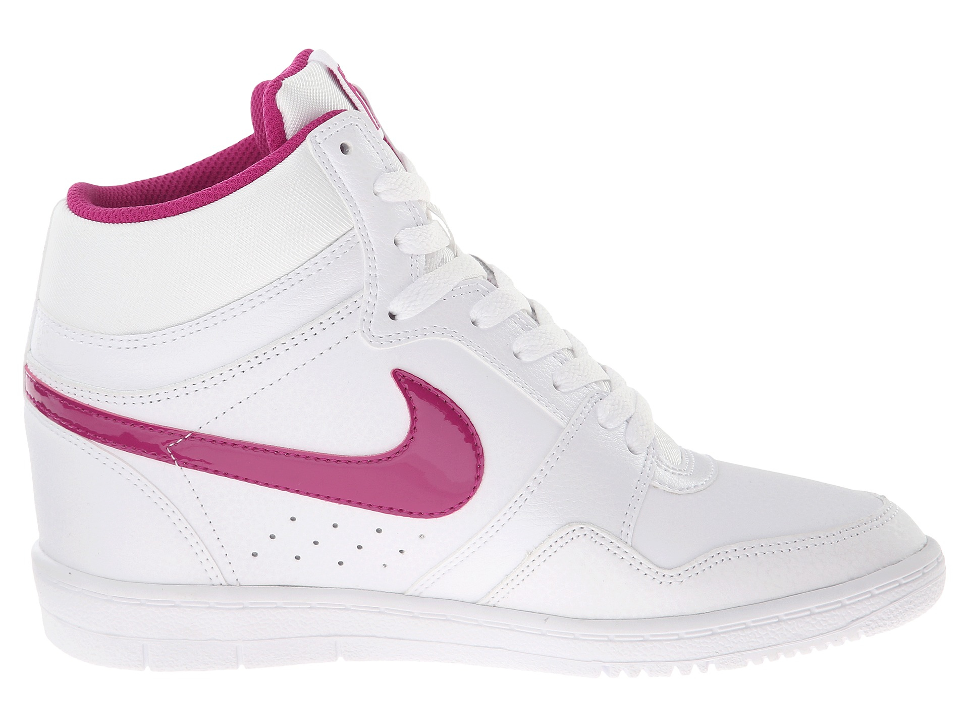 Nike Force Sky High Sneaker Wedge in White | Lyst