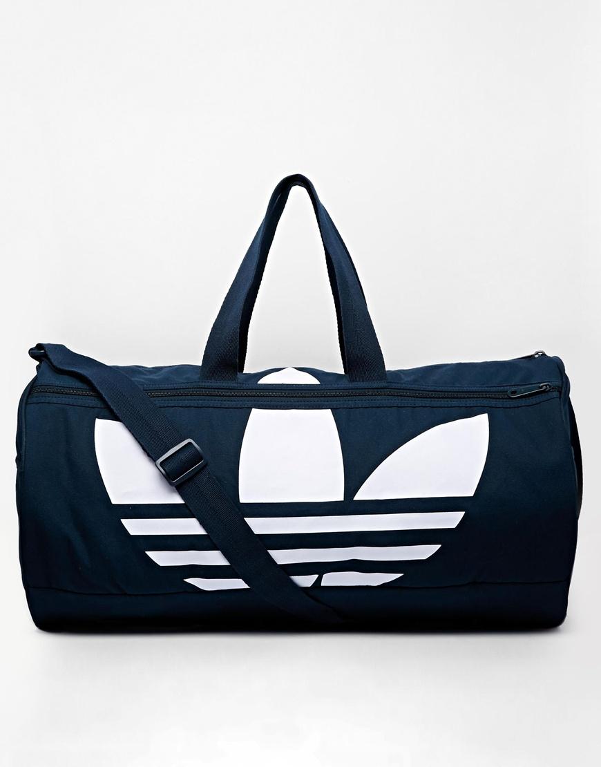 82befba5755ed6 adidas Originals Canvas Duffle Bag in Blue for Men - Lyst