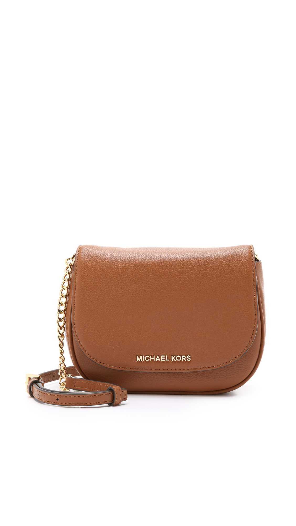 23dfe4782bd9 italy michael kors small brown purse 86a41 702d8; czech lyst michael  michael kors bedford small cross body bag luggage 562ec d4a9b
