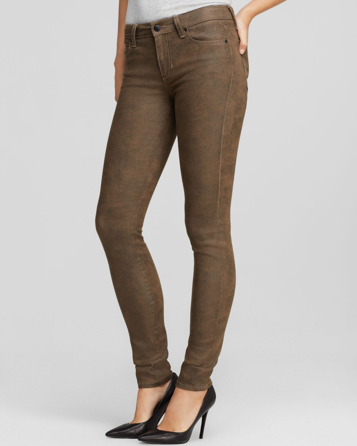 Joe's jeans - Skinny In Montana in Brown | Lyst