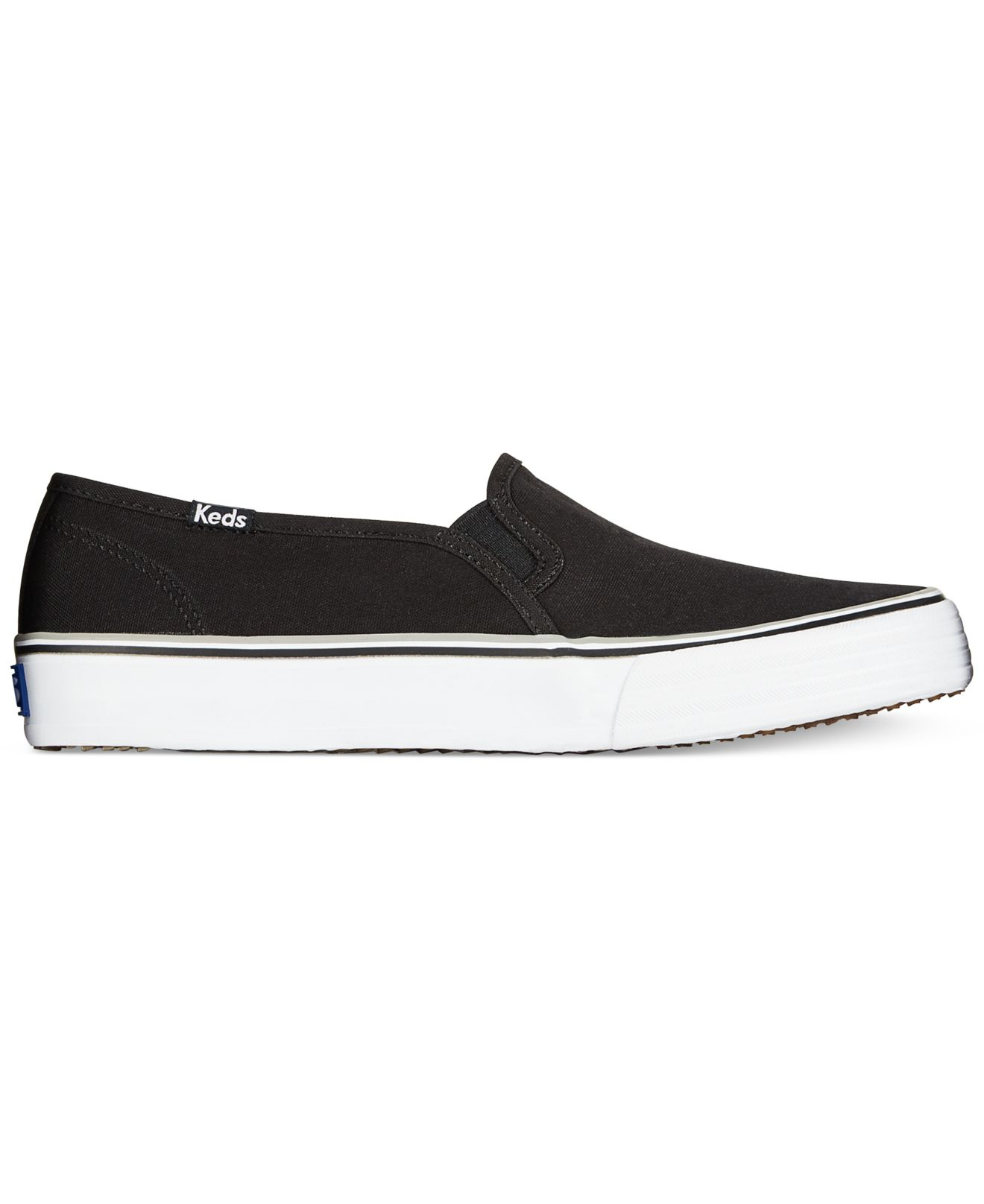 womens black keds slip ons