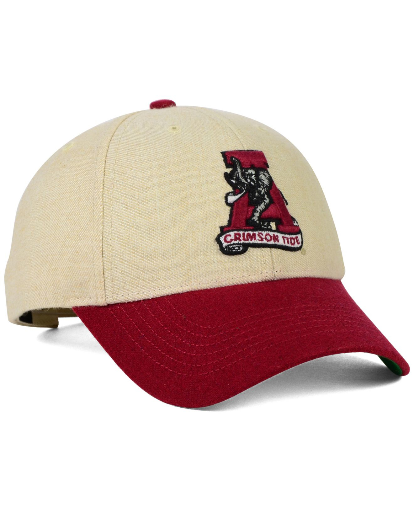 eb84316ec4a ... clean up adjustable hat main container image 1. d427b aa3af  reduced  lyst 47 brand alabama crimson tide munson mvp cap in natural for men bd2ce  15a28