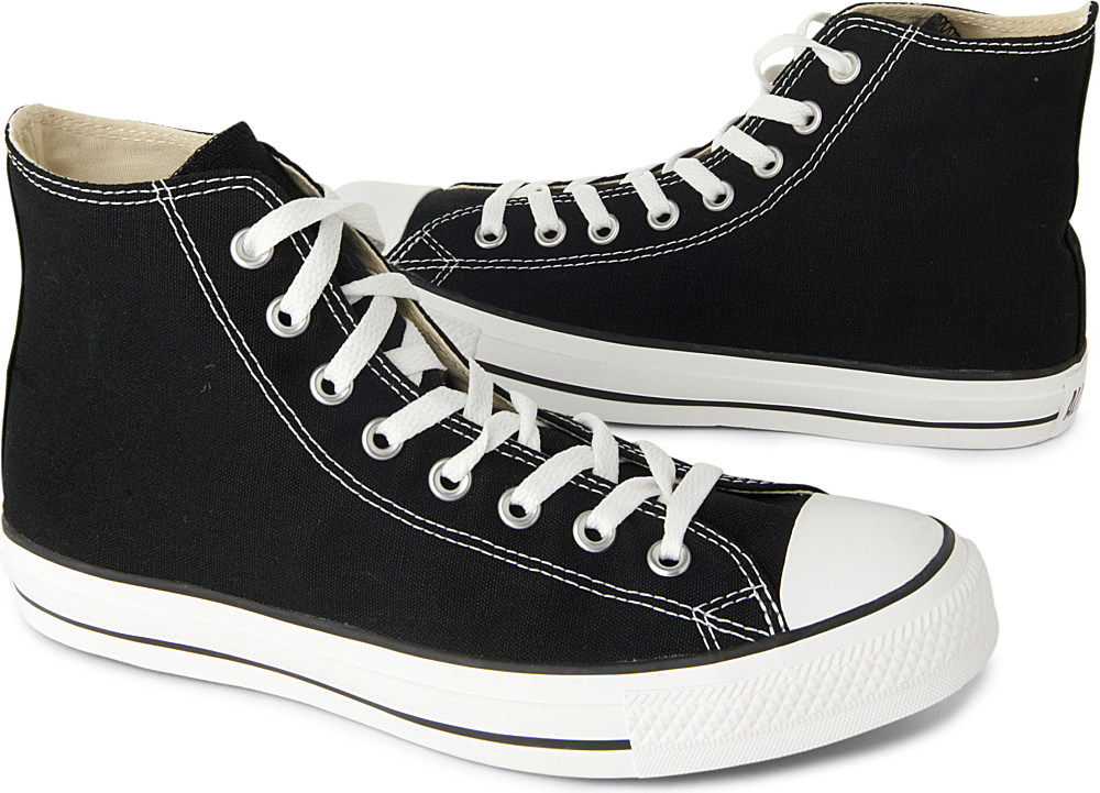 f70b7edc44fc1d ... Converse Chuck Taylor All Star High Tops in Black for Men - Lyst ...