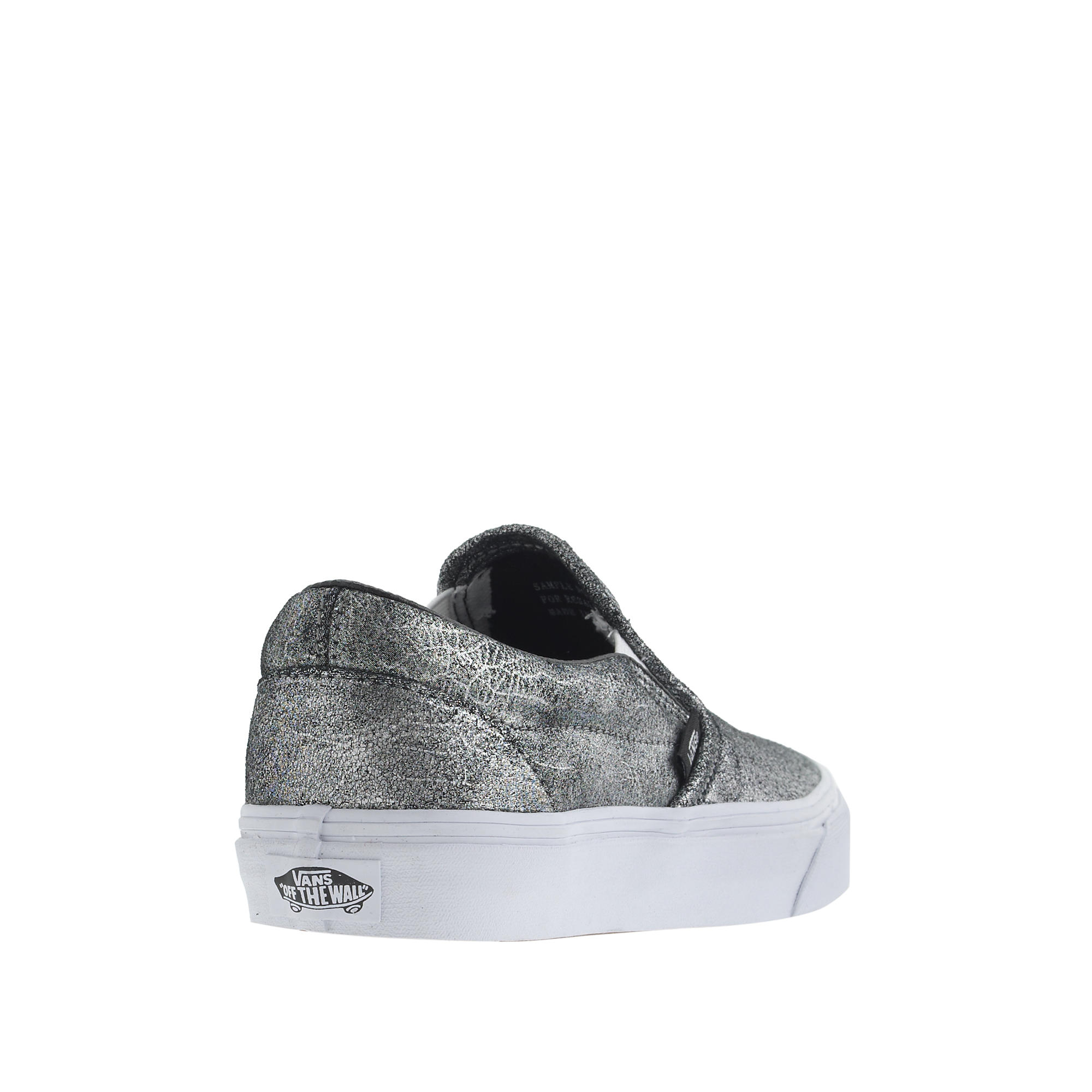 a53fbea571ece5 Lyst - J.Crew Unisex Vans Classic Slip-on Sneakers In Metallic ...